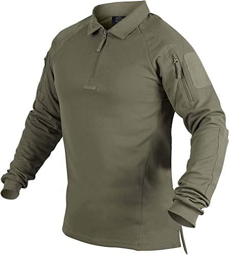Helikon-Tex Range TopCool - Polo para hombre, color verde