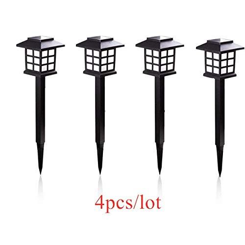 GZSC 2/4/6/8 stuks LED zonnelampen buitenverlichting waterdicht voor landschapsweg tuin patio Driveway Walkway