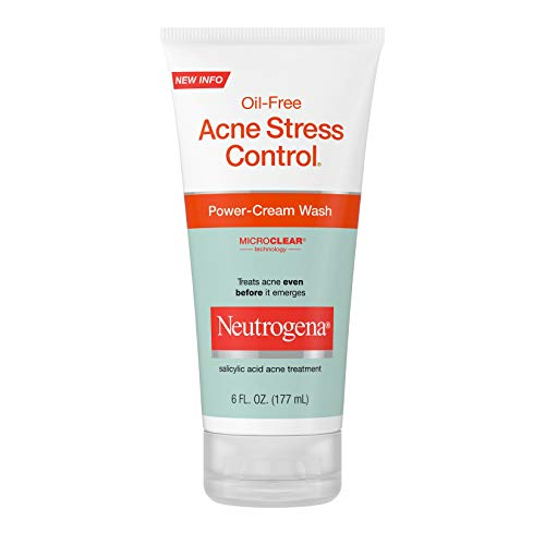 Neutrogena Oil Free Acne Stress Control Power Cream Face Wash