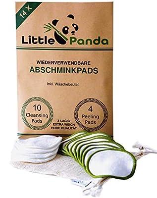 Little Panda Abschminkpads waschbar