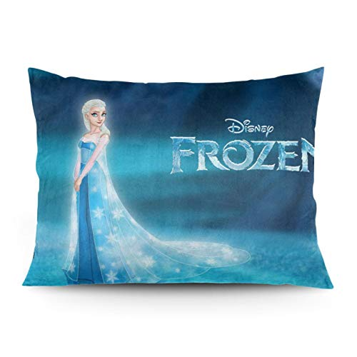 Fondo de escritorio Anna Frozen Movie Free Disn-ey Free Medium cama funda de almohada super suave 100% microfibra, transpirable y libre de arrugas 55x66 cm