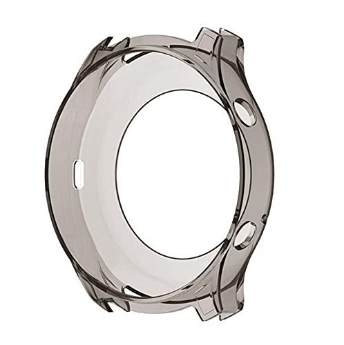 YDL Funda Protectora De TPU para Samsung Galaxy Gear S3 Classic Smart Watch Funda Protectora para Samsung Gear S3 Classic Watch Accesorio (Color : Gray, Size : Only The Protective)