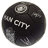 Manchester City Phantom Signature Ballon de football Noir, Noir , taille unique
