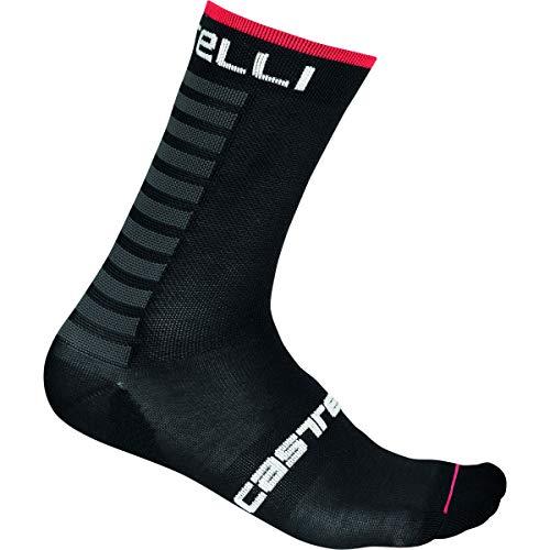 Castelli Primaloft 15 Socke, Schwarz, S/M – Herren