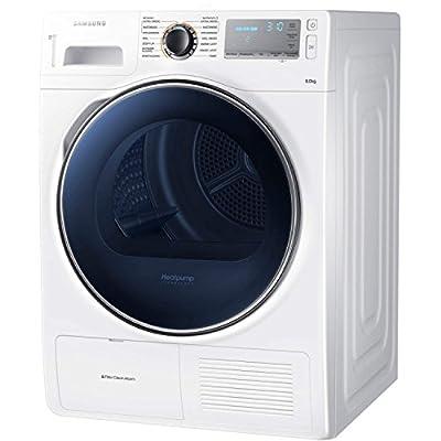 Samsung DV80H8100HW 8kg Load Heat Pump Tumble Dryer Class A++ White