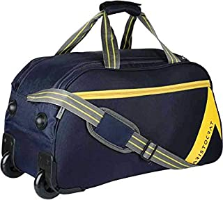 Aristocrat Polyester 54.5 cms Navy Blue Travel Duffle (DFTDAW52NBL)