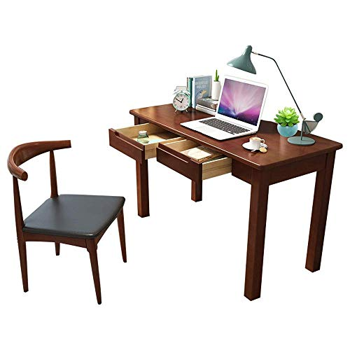 NBVCX Furniture Decoration Kid Furniture Set Wooden Computer Desk Bedroom Student Table Child's Learning Desk – Best for 6 7 and 8 Year Olds(No Chair) (Color : Brown Size : 120X55X75CM)