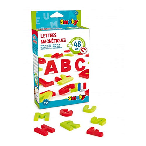 Smoby–430100–Pack 48Letras mayúsculas