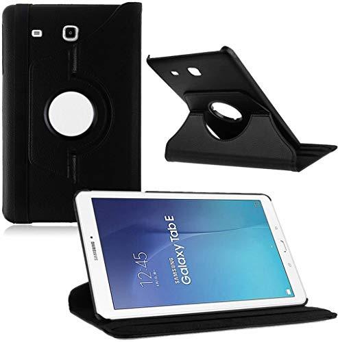 Tablet hoesje 360? draaibaar voor Samsung Galaxy Tab E 9,6 inch Tab E T560 / T561 - Zwart