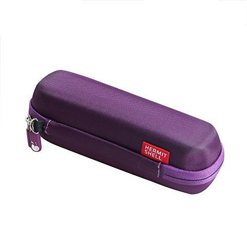 Hermitshell Travel Case Fits Braun Forehead Thermometer FHT1000 (Purple)-Only Case
