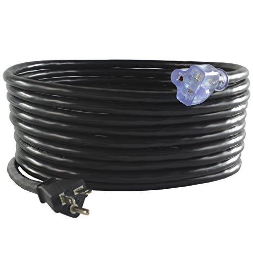 Conntek 20520-025 NEMA 5-20 Outdoor Extension Cord 20 Amps 125 Volts, 25 Feet