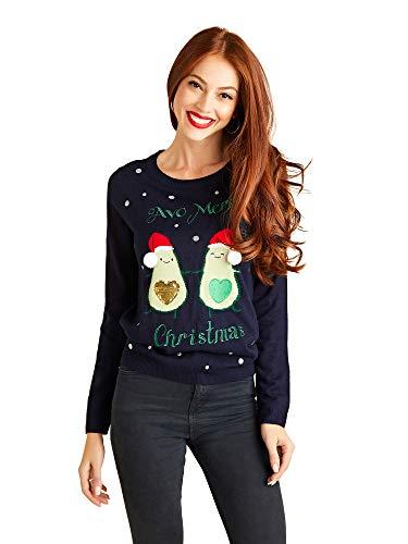 YUMI Avocado Christmas Jumper