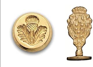 Brass Wax Seal Stamp - Scottish Thistle 782H