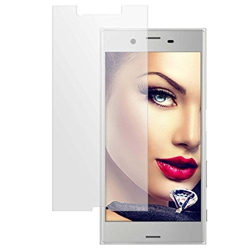 mtb more energy® Schutzglas für Sony Xperia XZs (G8231, G8232 / 5.2'') - Tempered Glass Bildschirm Schutzfolie Glasfolie