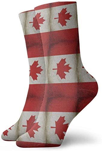 Clsr Kanadische flagge frauen crew socken lustige neuheit athletic crew dress casual socken geschenkideen