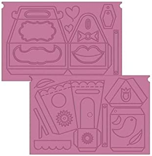 Crafter's Companion Treats Ultimate Embossing Boards-Sweet Things, 36.7 x 22.4 x 0.3 cm