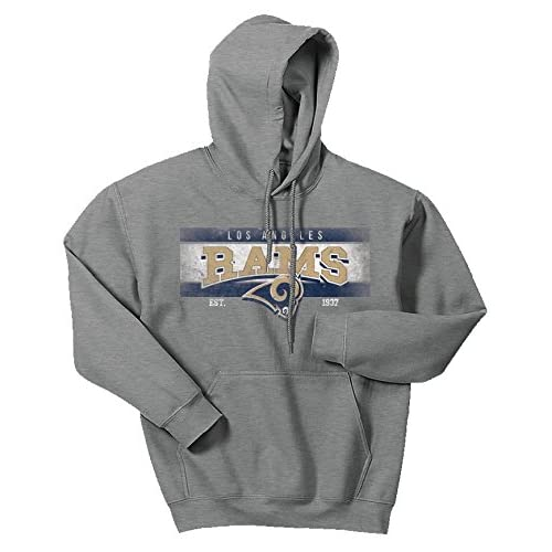 de44f72e Zubaz Men's Officially Licensed NFL Solid Colored Logo Hoodies