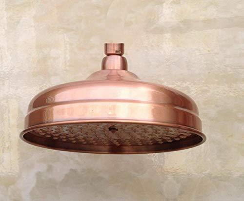 Antiker Duschkopf Kupfer Duschkopf Aus Kupfer Rotes Runde 8
