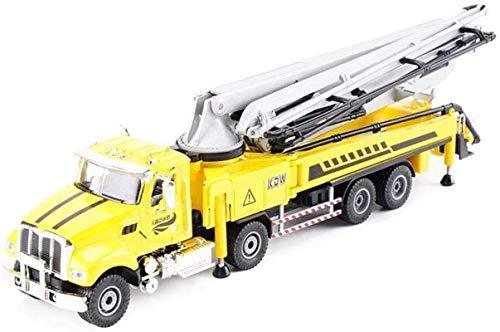 Modelo de automóvil Modelo de aleación Modelo de automóviles Ingeniería de vehículos Concreto Bomba Camión Simulación Modelo Modelo Boy Toy Decoration Collection (Color : Yellow)