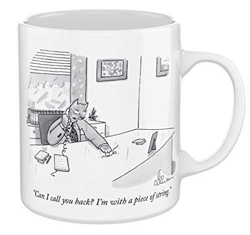 Keramiktasse – New Yorker Katze Cartoons Tasse