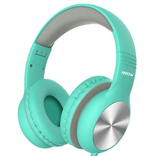 Kopfhörer Junge, Mpow CH6 Pro Kinder Kopfhörer, für Teenager, Kinder, Mädchen, Jungen, HD-Stereo-Kopfhörer mit Sharing-Funktion und Lautstärkebegrenzung, zusammenklappbares, leichtes Headset