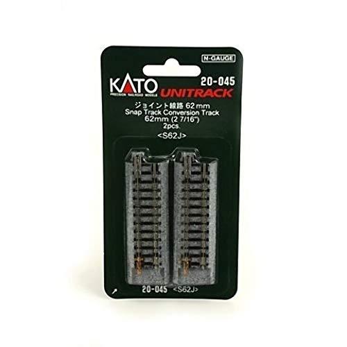 KATO Nゲージ ジョイント線路 62mm 2本入 20-045 鉄道模型用品