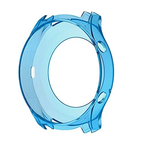 YONGLI Funda Protectora De TPU para Samsung Galaxy Gear S3 Classic Smart Watch Funda Protectora para Samsung Gear S3 Classic Watch Accesorio (Color : Blue, Size : Only The Protective)