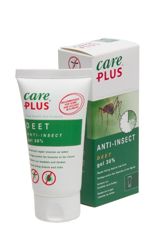 Care Plus Anti-Insectes DEET 30% en Gel 80 ML