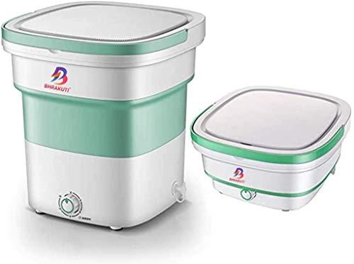 BHRAKUTI® Mini Folding Washing Machine Portable,Foldable Compact Ultrasonic Small Automatic...