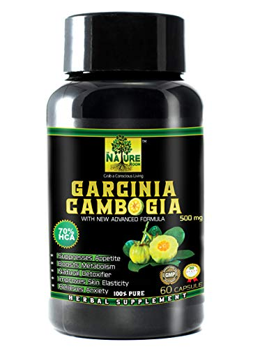 THENATUREROOM Pure Garcinia Cambogia Extract (Weight Loss Supplement and Fat Burner)-500 MG 60 Capsules