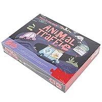 💌ロマンチックなバレンタインデー💌ジグソーパズル、滑らかな表面のパズル、家庭用クリスマスギフトスクールゲーム誕生日プレゼントハロウィーンギフトオフィス(Animal traffic)