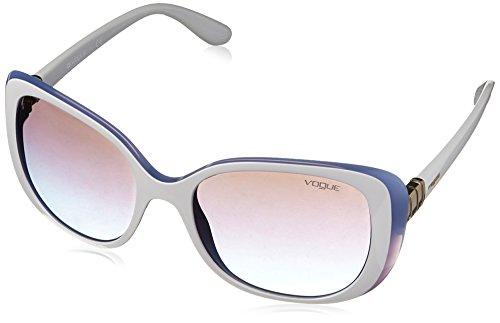 Vogue 0Vo5155S, Gafas de Sol para Mujer, Multicolor (Top Beige/Azure), 55