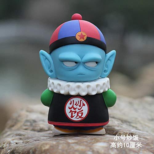 YYHJ Modell Geschenk Spielzeug Sammlerstück Kreatives Schlafzimmer Oolong Militäruniform Schwein Bajie Little Wukong Klin Autopuppe Geburtstag Geschenk Gebratener Reis (ausgepackt)