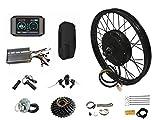 NBPOWER TFT Color Display Ebike 72v 3kw rueda trasera bicicleta eléctrica motor kit 72V 3000W kit de conversión de bicicleta eléctrica (16 pulgadas)