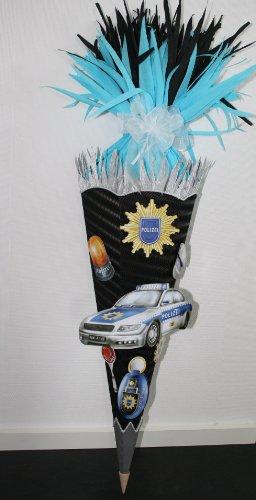 Bastelset Schultüte Polizei mit XXL Sticker