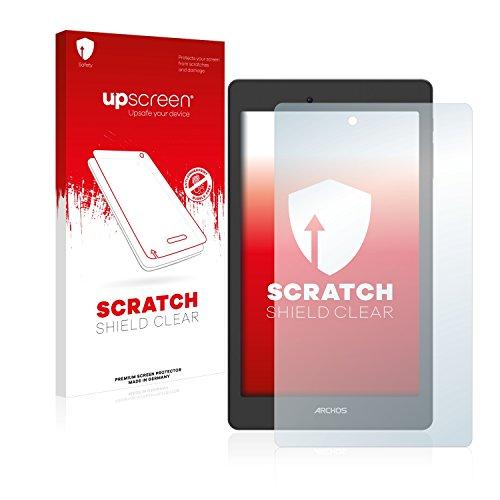 upscreen Schutzfolie kompatibel mit Archos Oxygen 70 – Kristallklar, Kratzschutz, Anti-Fingerprint