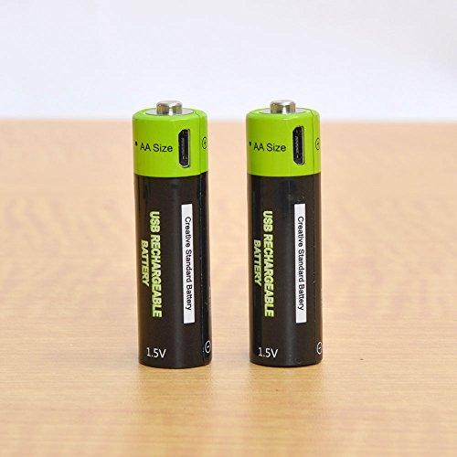 充電器不要!USB充電できる乾電池 サンコーレアモノショップ (単3形2本セット)
