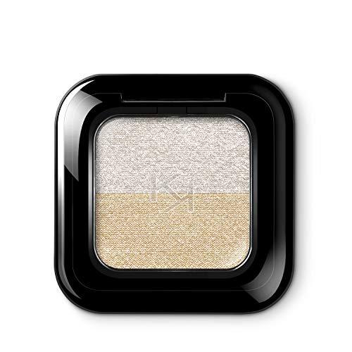 KIKO Milano NEW BRIGHT DUO EYESHADOW 01 | Sombra de ojos dúo con una pigmentación rica e intensa