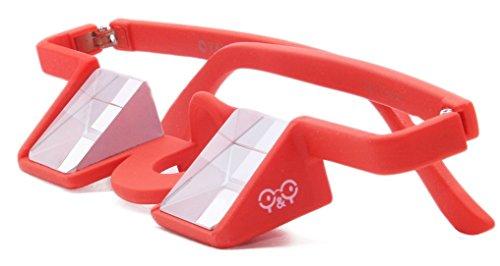 FIT4OLYMP Occhiali d?Arrampicata Occhiali prismatici da sicura