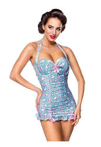 Belsira Damen Vintage Badeanzug 3XL