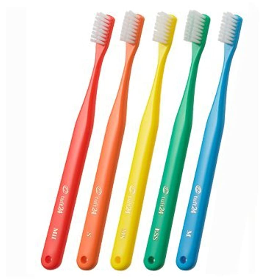 狂信者一元化する余裕があるタフト 24 歯ブラシ × 5本 アソート (S(ソフト))