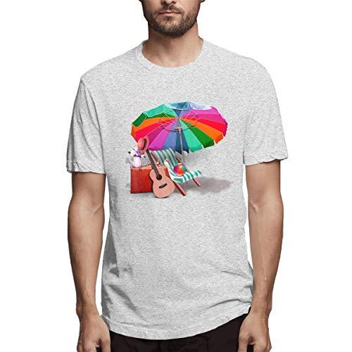 Shirt Grafik Design Strandkorb Download Sonnenschirm Strandkorb Violine Great Sea Aeeacaa () Herren Baumwolle lässig T-Shirt