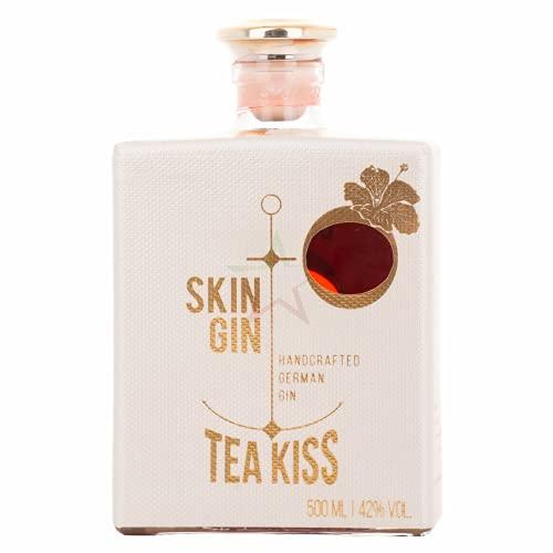 Skin Gin Handcrafted German Gin TEA KISS 42,00{bdef0055a5796c90f81b1a8f1db9457192af6ed7c082e24d283bdb4a1ab719ae} 0,50 Liter