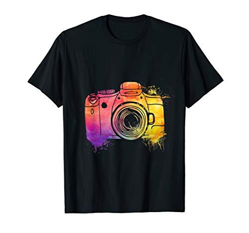 Fotograf Geschenk | Fotografie Kamera T-Shirt