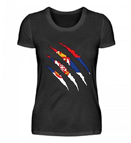 Hochwertiges Damenshirt - Serbien WM Fan Tshirt Serbische Nationalmannschaft Shirt Trikot