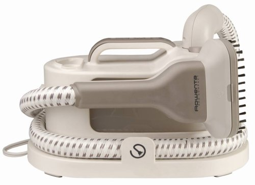 Rowenta IS1430 Pro Compact Garment and Fabric Steamer with Accessories, 1400-Watt, Gray