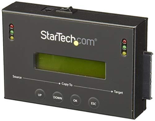 StarTech.com Standalone 2,5/3,5 inch SATA harde schijven duplicator met multiHDD/SSD image back-up bibliotheek, HDD dupliceerder, 6 GB/s