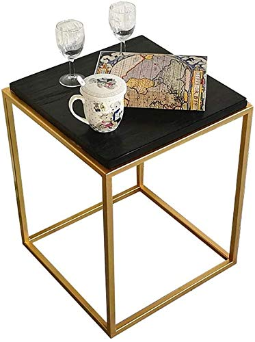 Xiesheng Coffee Table Chair Side Table End Tables Nightstand Table,Computer Desk,Coffee Table,Telephone Table, Hallway Furniture For Home Living Room (Color, White),Black
