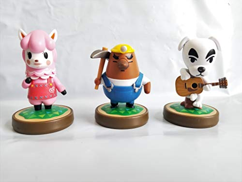 Amiibo Animal Crossing 3-Pack (Reese, Mr. Resetti, K.K. Slider) bulk pack