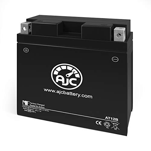 Yamaha XVS650 V-Star (All) 650CC Motorcycle Replacement Battery (1998-2016) - This is an AJC Brand Replacement
